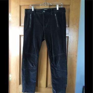 Banana Republic Gray Corduroy Pants